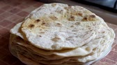 cooking : Home made tortillas bread