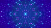инсультов : disco kaleidoscopes background with animated glowing neon colorful lines and geometric shapes for music videos, VJ, DJ, stage, LED screens, show, events, christmas videos, festivals, night clubs. 4K.