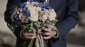 blossom : Wedding bouquet of beautiful flowers. Wedding flowers