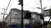 L'intersection des rues Haight Ashbury à San Francisco. Vidéos Libres De Droits