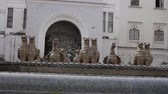 гриф : Gryphons Fountain in Sukhumi