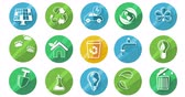 creative : Ecology Concept Icon Set