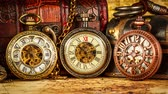 clock : Vintage Antique pocket watch.