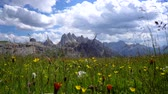 крайняя местности : National Nature Park Tre Cime In the Dolomites Alps. Beautiful nature of Italy.
