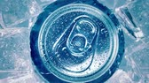 ice pop : Aluminum Soda Tin Can Lid Cover of soft drink on ice goes around the circle.