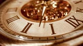 clock dial : Antique clock dial close-up. Vintage pocket watch.