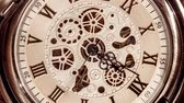 clock dial : Spiral clock track of time