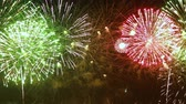 декабрь : Colorful fireworks exploding in the night sky. Celebrations and events in bright colors.