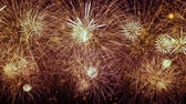 Colorful fireworks exploding in the night sky. Celebrations and events in bright colors.