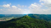 fadas : Hohenzollern Castle, Germany. Aerial FPV drone flights.