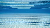 hattı : Olympic Swimming pool underwater background.