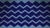 орнамент : Kinitted ZigZag Animation Background. High-Quality 4K, 60fps Стоковые видеозаписи