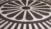 simbolismo : Dharmachakra - Buddhist Symbol On Wodden Texture. Ideal For Your Buddhism  Religion Related Projects. High Quality Seamless Animation. 1080p, 60fps