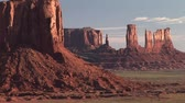 слои : Monument Valley Navajo Tribal Park, time lapse