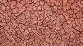 kurutulmuş : Close up of clay, Painted Hills, Oregon, dolly shot