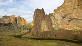 scénický : Smith Rock state park, Oregon, time lapse