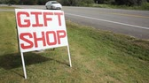 sklep : Gift shop sign along the road