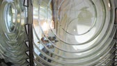 severozápad : Close up of Fresnel lens in Cape Blanco Lighthouse, Oregon Dostupné videozáznamy