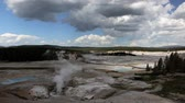 фарфор : In Norris Geyser Basin area, the Porcelain Basin, Yellowstone National Park