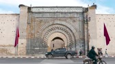 sıra : Bab Er Robb Gate Historic City Walls Tourist Attraction Things to see Marrakesh Morocco