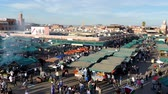 must see : Jemaa el-Fna Market Stalls Central Square Souk Shopping Marrakesh Morocco