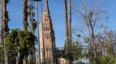 Koutoubia Mosque Kotoubia Mosque Kutubiya Mosque famous landmark places to visit Marrakesh Morocco