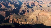 обод : Grand Canyon, United States - April 19, 2019: PAN of Grand Canyon National Park landscape geology from the south side Arizona