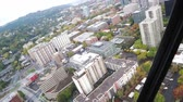 aviação : Aerial view of Portland, Oregon