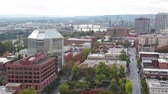 кокпит : Aerial view of Portland, Oregon