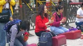 Locals and tourists asked for fortune and predictions at Wong Tai Xin temple, Hong Kong