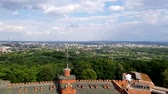 Aerial view of Krakow, Poland. Krakow has been awarded a number of top international rankings such as the 1st place in the Top city-break destinations 2014 survey conducted by the British.