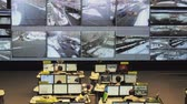 surveillance : Moscow, Russia - February 9, 2018: Operators work in road traffic control center