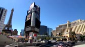 las vegas strip : Las Vegas, USA - September 10, 2018: Tourists visiting the sights at sunny day time