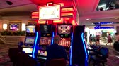 roleta : Las Vegas, USA - September 10, 2018: People are playing slot machines at MGM casino
