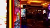 kumarbaz : Las Vegas, USA - September 10, 2018: People are playing slot machines at MGM casino