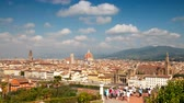 Cityscape of Florence as seen from Piazzale Michelangelo.