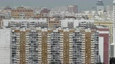 multistory : Lots of multistorey houses in the city with high density of population. Moscow, Russia