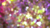 purple pink yellow blur background abstract colorful leaves flower tree in garden