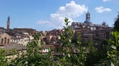 toscano : SIENA, ITALY - SEPTEMBER 7, 2016. General view of the city from a high hill