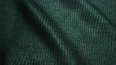 shimmers : dark green high quality corduroy texture, moving waves. Seamless loop