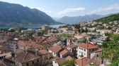 praga : The old town of Kotor taken from the height