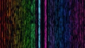 grade : Colorful Glowing Matrix Grid Lines VJ Loop Motion Background Stock Footage