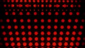 mancha : Red Glowing Neon Circles Abstract Motion Background VJ Loop