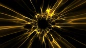 portale : Gold Black Hole Energy Tunnel Intro Logo Loop Background Filmati Stock