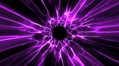 фуксия : Purple Black Hole Energy Tunnel Intro Logo Loop Background