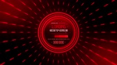Red Data Loader Loopable Motion Graphic Background