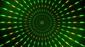 Green Spinning Circles Loopable Motion Background Filmati Stock