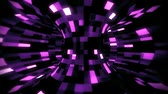 3D Purple Sci-Fi Torus AI - Arificial Intelligence - VJ Loop Background