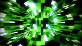 tubo : 3D Green Sci-Fi Torus AI - Arificial Intelligence - VJ Loop Background