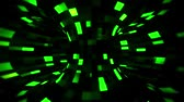 3D Green Sci-Fi Torus AI - Arificial Intelligence - VJ Loop Background